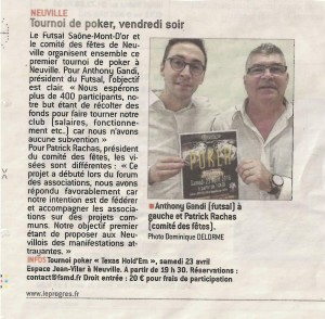 article presse Poker